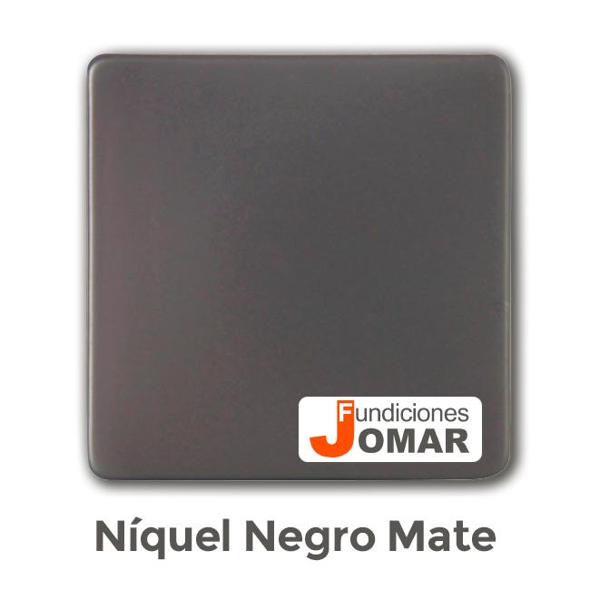 JOMAR NÍQUEL NEGRO LACADO MATE